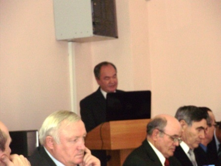 Защита докторской диссертации Сержановым И М  Научный консультант Шайхутдинов Ф Ш